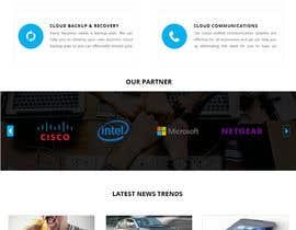 nº 35 pour Design  a Website Mockup par fudeart28