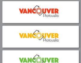 #44 untuk Design a Logo for Vancouver Photowalks oleh mmkrish