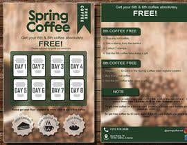#42 for Coffee cards 8th coffee free. Stamp. by sanahonpode4