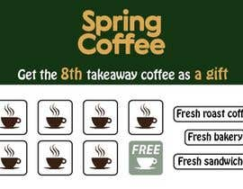 #25 for Coffee cards 8th coffee free. Stamp. by drima16