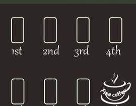 #38 for Coffee cards 8th coffee free. Stamp. by Heartbd5