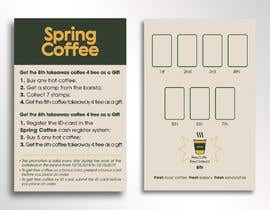 #45 for Coffee cards 8th coffee free. Stamp. by jeewoo258