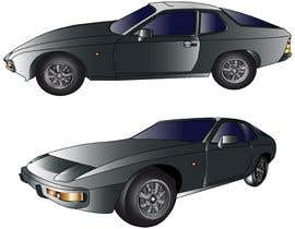 #10 for Create a vectorised 2D image of project car. by Pandred