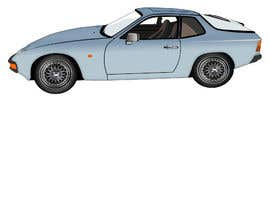 #17 for Create a vectorised 2D image of project car. by letindorko2