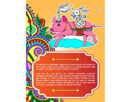 #21 for Need a cool font and back cover graphic for coloring book by sudhalottos