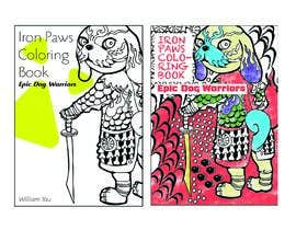 #10 for Need a cool font and back cover graphic for coloring book by niluferkaranfil