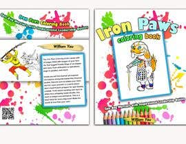 #7 for Need a cool font and back cover graphic for coloring book by emastojanovska