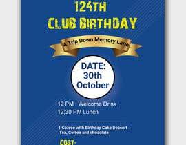 #42 for Design a Club Birthday flyer by piashm3085