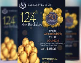 #37 for Design a Club Birthday flyer by GraphicHunters06