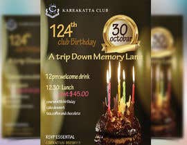 #38 for Design a Club Birthday flyer by GraphicHunters06