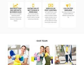 ihprince9 tarafından Design a One Page Website for a cleaning Company Service için no 45
