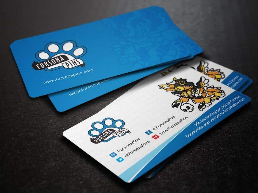 Bài tham dự cuộc thi #205 cho Design a business card for enamel pins