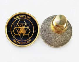 #34 for Design a Lapel Pin for 'Knights of Blockchain' by ntmai