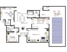 #2 for make interior furniture layout for residential villa by autocad by abdomostafa2008