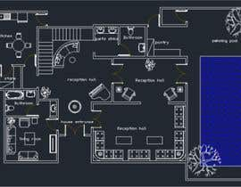 #10 per make interior furniture layout for residential villa by autocad da mohamedmh94