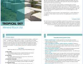 Číslo 26 pro uživatele Write a Profile for my company and Marketing Material od uživatele rizia369