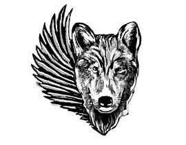 #24 for 1 Wolf & 1 wing Tattoo Design af letindorko2