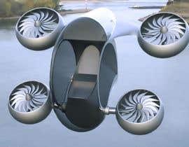 #68 for Light Urban Aircraft Design by MatiasDupuy