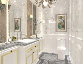 #14 for Powder room/ small washroom interior design by MrLims