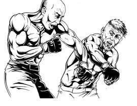 #22 untuk Illustrate 2 MMA Fighter oleh Rotzilla
