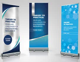 #11 for Design Banner: Three 33x78 Retractable Roll Up Banner Stands and One 33x34 Table Top Banner by nadiapolivoda