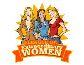 #37 para Logo Design for League of Extraordinary Women de Adolfux