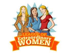 #35 para Logo Design for League of Extraordinary Women de Adolfux