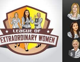 #30 pentru Logo Design for League of Extraordinary Women de către taks0not