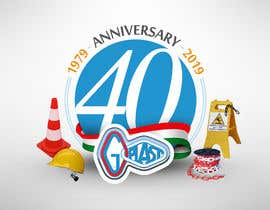 #21 para 40th Anniversary logo design for company. por gastnportal