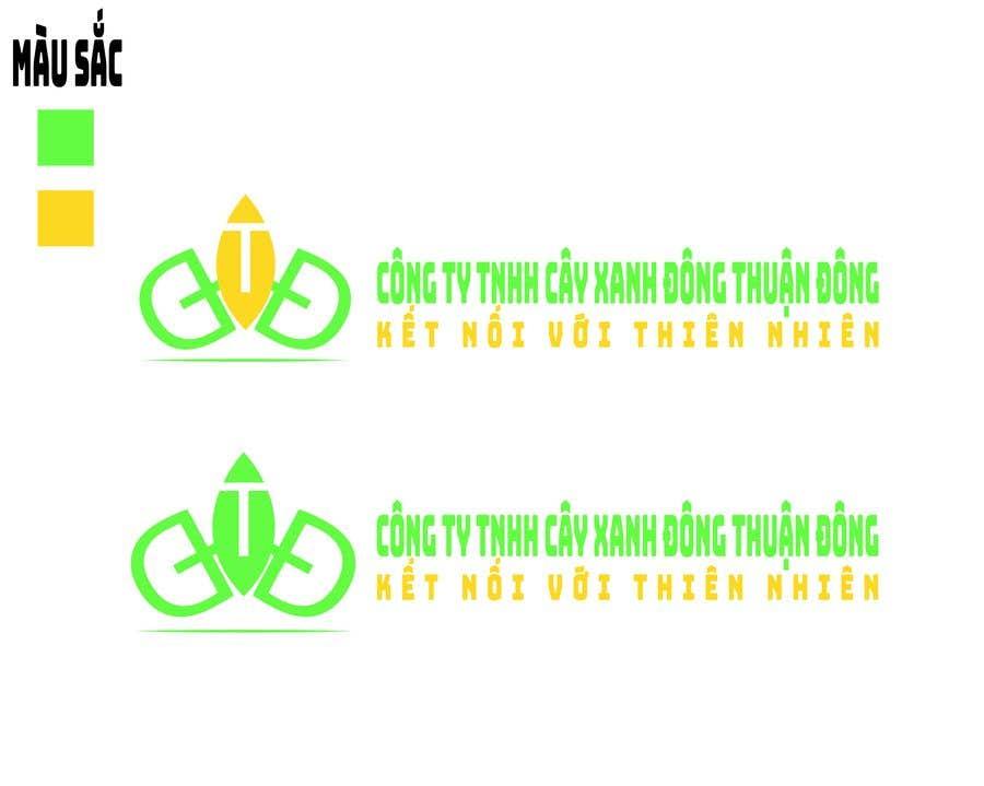 Proposition n°2 du concours Design logo for  Công ty TNHH Cây Xanh Đông Thuận Đông