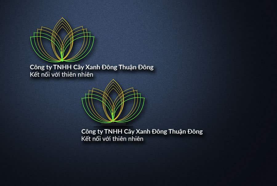 Proposition n°6 du concours Design logo for  Công ty TNHH Cây Xanh Đông Thuận Đông