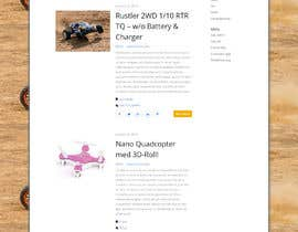 "#3 cho Wordpress, design: ""remote controlled car"" theme bởi richardginn"