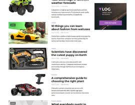 "#5 cho Wordpress, design: ""remote controlled car"" theme bởi monowara9850"