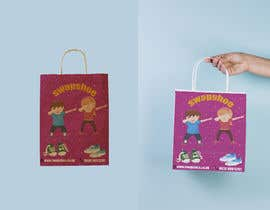 #4 untuk Create a polymailer packaging design that is fun, exciting and on brand. oleh AbdallaMohamedN