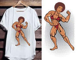 #42 untuk Fitness T-shirt Design needed oleh bundhustudio