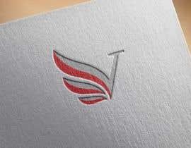 #619 untuk Simple V letter logo monogram/penrose triangle oleh Shakil361859