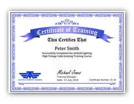 #45 for Please make this certificate more professional and editable by shila34171