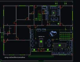 #4 untuk make interior furniture layout for residential villa oleh arqfernandezr