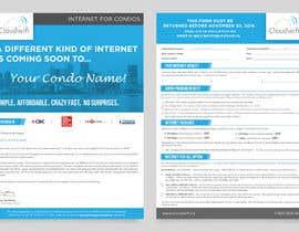 Nro 212 kilpailuun Design a Flyer (front and back page) käyttäjältä darbarg