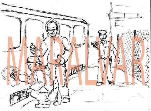 Bài tham dự cuộc thi #                                        1                                      cho                                         Illustration Design for children's composition writing class - vandals