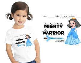 #54 for I am a Mighty Warrior - GIRLS Tshirt by dilipprasad406