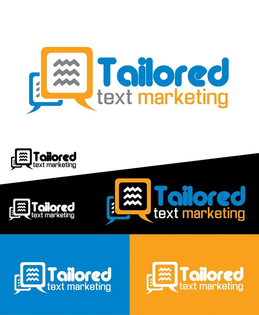 Proposition n°                                        144                                      du concours                                         Logo Design for Tailored text marketing
