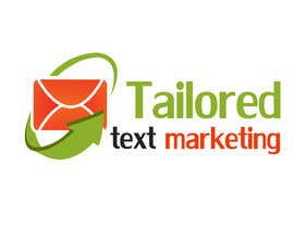 #140 para Logo Design for Tailored text marketing por hirusanth