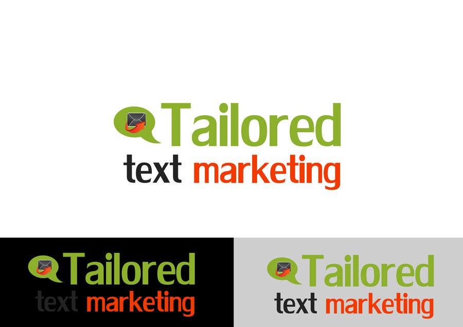 Inscrição nº 145 do Concurso para Logo Design for Tailored text marketing