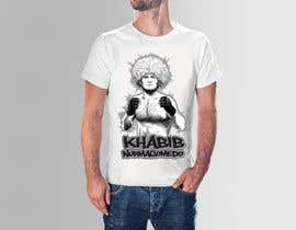 #18 for T-shirt design - Khabib UFC -- 10/14/2018 9:19:29 am by jamhdesing