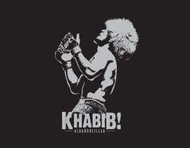 #11 for T-shirt design - Khabib UFC -- 10/14/2018 9:19:29 am by ganjarelex