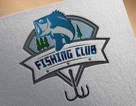 Nro 21 kilpailuun Fishing club logo käyttäjältä abdullahbinhaqu6