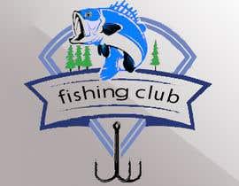 Nro 22 kilpailuun Fishing club logo käyttäjältä ahmedksunour