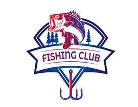Nro 16 kilpailuun Fishing club logo käyttäjältä Nishat1994