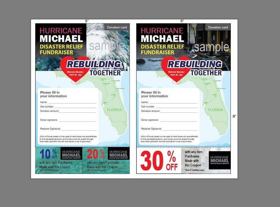 Конкурсная заявка №172 для Hurricane Michael Disaster Relief Fundraiser